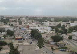 Rue Abdellahi Ould Oubeid, de la place de l'église au parc de Cordoue dans Visage De Ville chantier2
