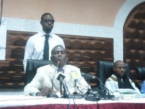 Le président de l'IRA face à la presse : «Un Conseil national de transition va être mis en place en Mauritanie» confbira-300x225