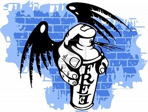 Jeunesse du «25 Février» : La guerre des graffitis au lieu de la grande démonstration de force dans Politique graffitti
