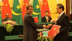 Chine Mauritanie